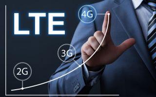 Проблема с LTE на устройстве Apple iPhone