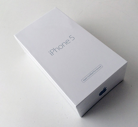 Упаковка iPhone 5s