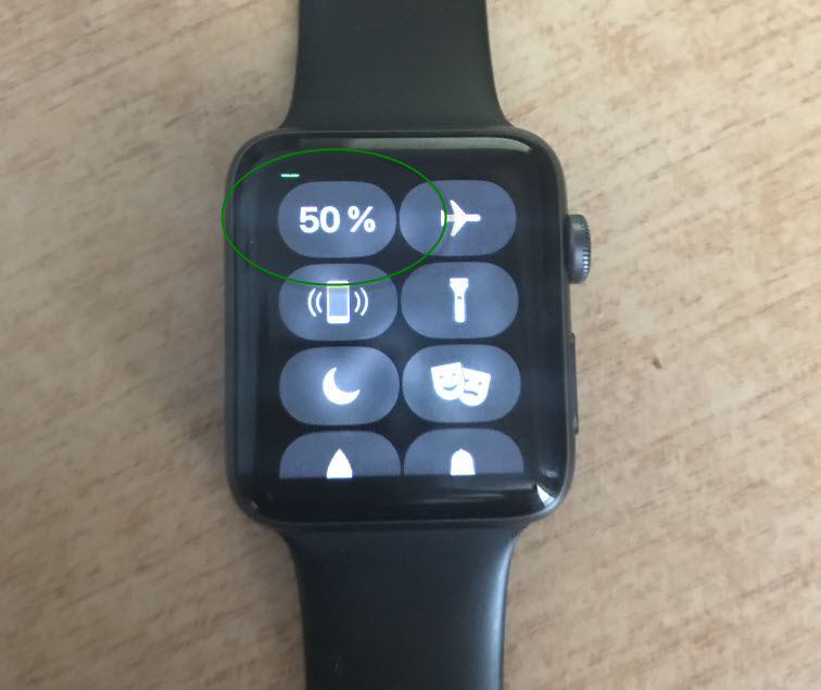Эко режим Apple Watch