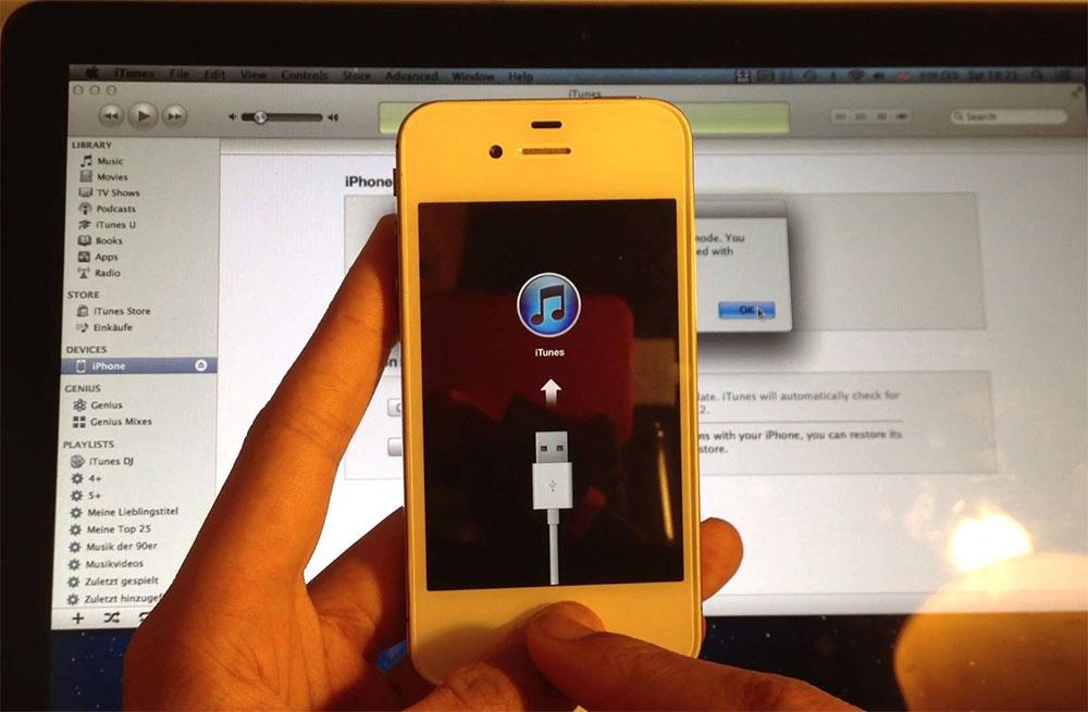 Айфон отключен подключитесь к itunes как разблокировать
