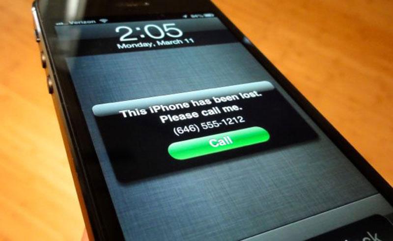 Как найти айфон, если его украли